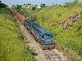 Locomotiva de comboio que passava sentido Boa Vista na Variante Boa Vista-Guaianã km 205 em Salto - panoramio (1).jpg