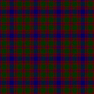 Clan Logan - Image: Logan, Skene or Rose tartan (D.C. Stewart)