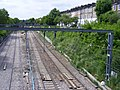 London Overground and North London Railway tracks, Mildmay Park,N1 May 2010.jpg