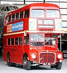 London Transport Museum Routemaster prototype RM1 (SLT 56), Showbus 2004 (1).jpg