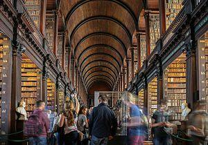 Longroom Bibliothek der Bibliothek des Trinity College