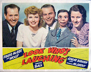 Look Who's Laughing - Lobby card