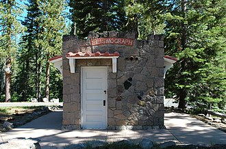 Loomis Museum - Image: Loomis Museum Seismographic Building