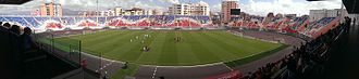 KF Vllaznia Shkodër - Loro Boriçi Stadium after reconstruction
