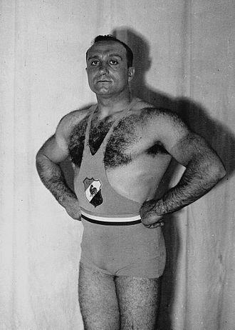 Louis Hostin - Louis Hostin in 1936