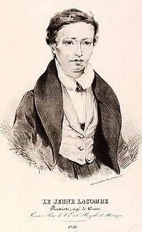 生涯[編集] 1831年、ピアノの1等賞を獲得した12歳[注 1]のラコンブ ラコンブはブールジ