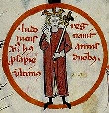 Louis V(enluminure du XIVesiècle)