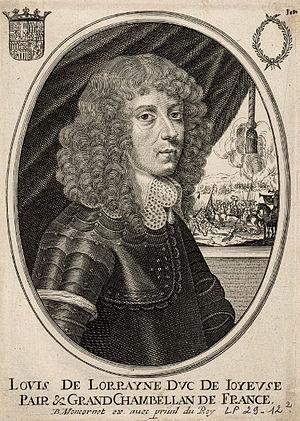 Louis, Duke of Joyeuse - Portrait of Louis, Duke of Joyeuse, 17th century