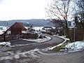 Lounín, silnice, pohled k domu čp. 42.jpg