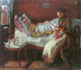 The Artist's Father in his Sickbed