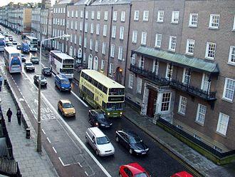 Leeson Street - Image: Lower Leeson Street, Dublin, Ireland