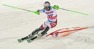 Luca Aerni Swiss alpine skier