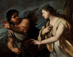 Picus - Image: Luca Giordano Picus and Circe