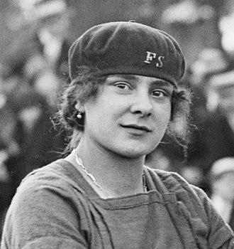 1921 Women's Olympiad -  Lucie Bréard