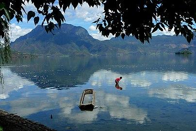 Lugu Lake (Luguhu Nature Reserve with WDPA ID 95771).jpg