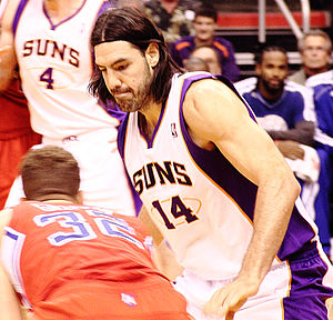 Luis Scola - Scola with the Suns in December 2012