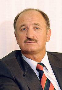 Português: O treinador da selecção nacional de Portugal e ex-futebolista brasileiro Luiz Felipe Scolari.