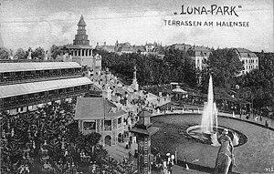 Luna Park, Berlin - Image: Lunaparkterrassen