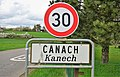 Luxembourg road sign F,14a Canach.jpg