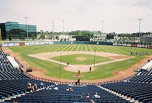 Raymond Chabot Grant Thornton Park - View behind home plate
