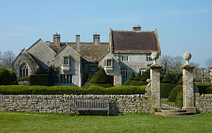 Lytes Cary - East front to the main house