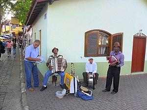 Forró - The city of Embu das Artes, Brazil