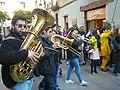 Músics del Basilisc de Reus a la cercavila de les festes del Barri Gòtic P1520713.jpg