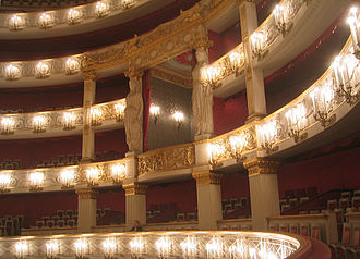 Bavarian State Opera - National Theatre Munich interior