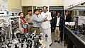M. Venkaiah Naidu interacting with the scientists and faculty members, at the inauguration of the Facility for Research in Experimental Nuclear Astrophysics (FRENA) at the Saha Institute of Nuclear Physics, in Kolkata (1).JPG