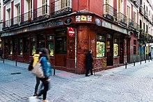 Calle De San Vicente Ferrer Wikipedia La Enciclopedia Libre