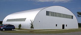 Military Aviation Museum - Restored original Luftwaffe hangar