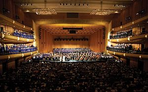 "Millennial Choirs and Orchestras - MCO performing ""Messiah in America"" in Abravanel Hall in 2011"