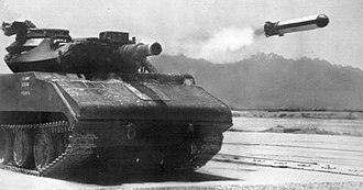 MGM-51 Shillelagh - MGM-51 Shillelagh fired from a Sheridan light tank