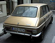 1967 Simca 1100, the first transverse engined hatchback.