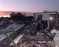 MSGT Elliott Finkelstien from 4th CTCS documents the devastation from the F-5 tornado was total, as houses just exploded and after cars were tossed about like toys in the wind DF-SD-00-03235.jpg