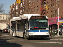 Map Of List Of Bus Routes In Brooklyn The Full Wiki