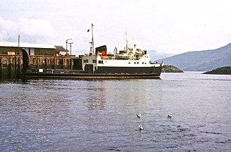 MV Arran - Image: MV Arran