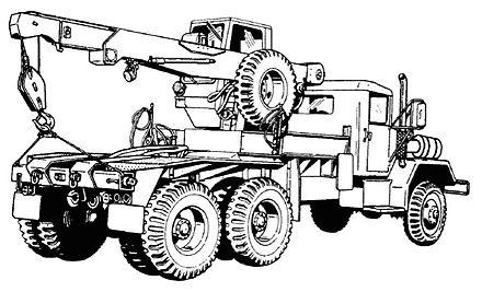 m54 5 ton 6x6 truck wikiwand 2019 Jeep Truck m246 medium wrecker tractor truck