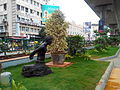 M G road, Bangalore side walk sculpture.jpeg