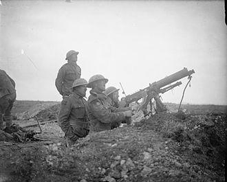 Battle of Arras (1917) - Image: Machineguncorps 2