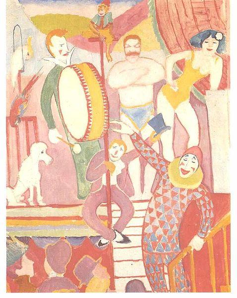 奥古斯特 麦克August Macke(德国1887-1914)作品集2 - 刘懿工作室 - 刘懿工作室 YI LIU STUDIO