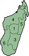 Províncies de Madagascar