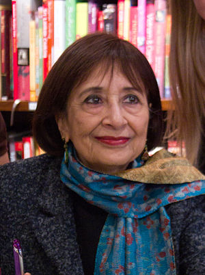 Madhur Jaffrey - Madhur Jaffrey at a book signing in Vancouver in October 2010