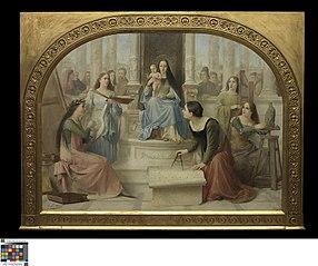 Madonna inspireert de Kunsten