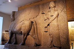 256px-Magical_Guardian_From_Palace_of_Sargon-5981009105 People in Fiction: Maurice
