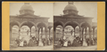 Magnesia Springs, Sharon, N.Y. Group. Dr. Fonda's house in the distance, from Robert N. Dennis collection of stereoscopic views.png
