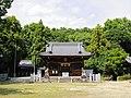 Magome Hachiman-sha shrine haiden, Magome-cho Toyoake 2018.jpg