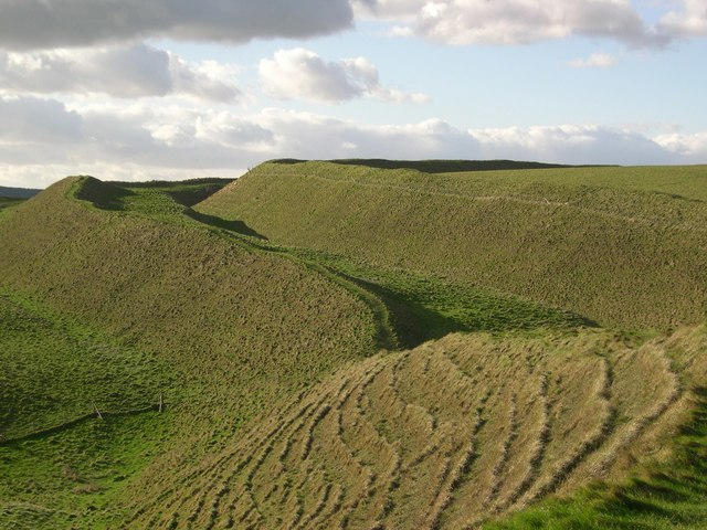 Maiden Castle, Dorchester.
