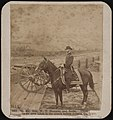 Maj.-Gen. W.T. Sherman and horse. These views were taken in the trench before Atlanta, Ga. LCCN2017660644.jpg