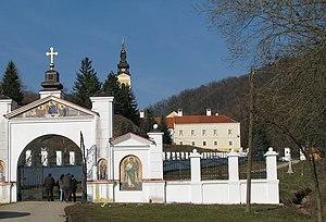 Grgeteg monastery - Entrance